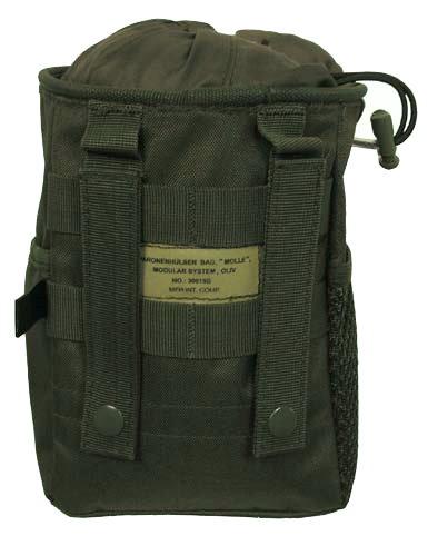 Fundtasche für Schatzsucher (Farbe oliv)